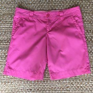 Lilly Pulitzer Bright Pink Resort Bermuda Shorts B
